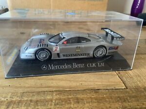 Scalextric 1:32 Mercedes CLK LM No. 2, Lights, Boxed