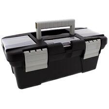 Kleine Werkzeugbox mit Fächern L 25 cm Mini Werkzeugkasten Aufbewahrungsbox Box