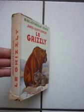 Biblioteca Verde/Curwood / il Grizzly / con Fodera 1947