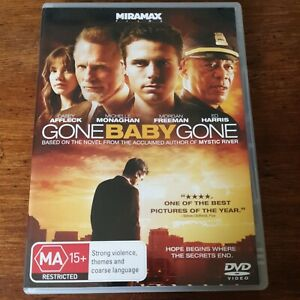 Gone Baby Gone DVD R4 Like New! FREE POST