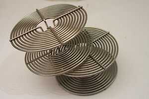 Stainless Steel 35mm Processing Spirals