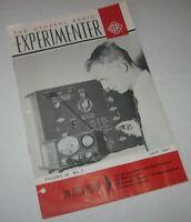 Vintage 1961 General Radio Experimenter Vol 35 #7 July Amplifier Null Detector