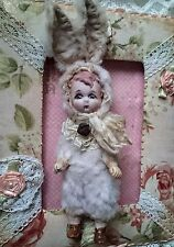 Ooak Teddy Doll with antique head