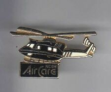 RARE PINS PIN'S .. AVION PLANE HELICOPTERE HELICOPTER SAMU CARE ~8A