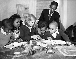 "1935 Snyder Ave Boys Club Art Class, New York City Old Photo 8.5"" x 11"" Reprint"