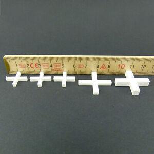 Fliesenkreuze bis 250Stk Fugenkreuze Fliesenabstandshalter Gr: 2, 2,5, 3, 4, 5mm