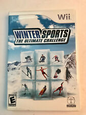 Wii Winter Sports The Ultimate Challenge Video Game Complete