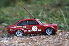 2x body shells Ford Escort mk2 rc car body shell 1/10 scale Retro Racing