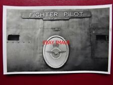 PHOTO  SR BATTLE OF BRITAIN LOCO NAMEPLATE  34055 FIGHTER PILOT