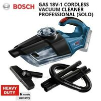 Bosch GAS 18V-1 Cordless Vacuum Cleaner Professional (SOLO SET)