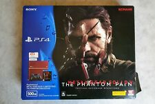 PlayStation 4 (500GB) Metal Gear Solid V Limited Pack The Phantom Pain Edition