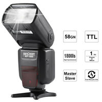 KF-885 Flash Speedlite Universel sans fil HSS1/8000s pr Nikon/Canon/ K&F Concept