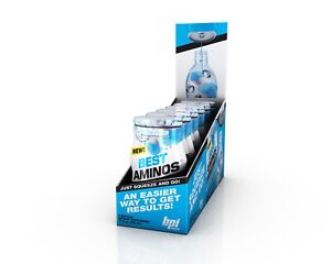Bpi Liquid Aminos Water Enhancers 24 Servings Pack of 6 Recovery Grow 2 Flavours