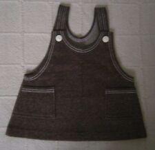 Vintage Stretch Tunic/Dress - Age 3 -98 cm - Brown Marl - Cotton/Nylon - New