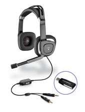 Plantronics Audio 650 Multimedia Headset with Analog & USB adapter for Computer