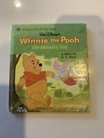 Walt Disney's Winnie the Pooh The Blustery Day, 1970 Golden Tell a Tale Book
