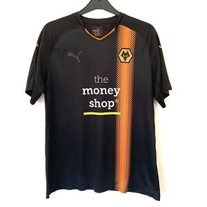 Puma Wolves Wolverhampton Wanderers 2017-18 Away Shirt Size XL - FREE POST