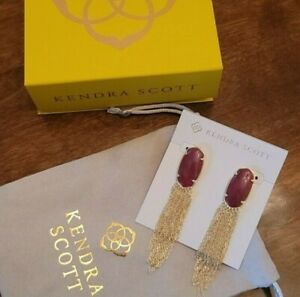 Beautiful Kendra Scott Deanna Drop Earrings, NWT, Excellent condition