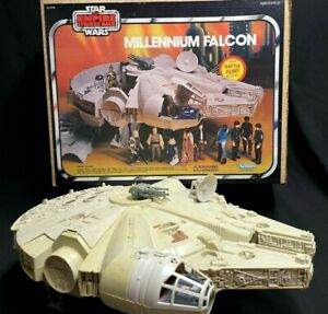 Vintage 1979 Empire Strikes Back Millennium Falcon with Box and Instructions