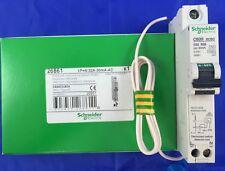 Schneider Electric 32 Amp Type C 10 KA 30ma RCBO MCB RCD C60hc32r30 26861