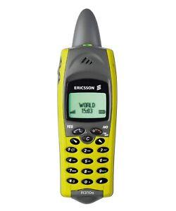 ☆ Ericsson R310s Gelb Handy Dummy Attrappe ☆ retro mobile ☆ Vintage ☆ Sammler