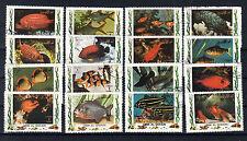 Umm-al-Qiwain Briefmarken 1972Tropische Fische Mi.Nr. 1306-21