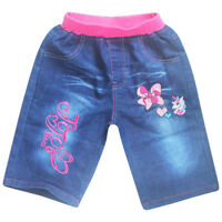 Cute JoJo Siwa Kids Girl Trousers Baby Cotton Soft Trousers  Middle Pants Summer