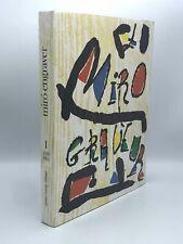 Juan MIRÓ, Jaques DUPIN / Miró Engraver Vol 1 1928-1960 1st Edition 1984