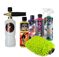 TORQ Professional Foam Cannon Kit with 3 Car Wash Soaps, AfterWash & Wash Mitt