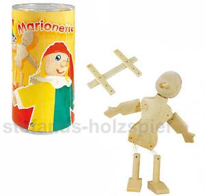 Marionette selber basteln! Fertige Holzteile für 2 Marionetten, NEMMER 52573