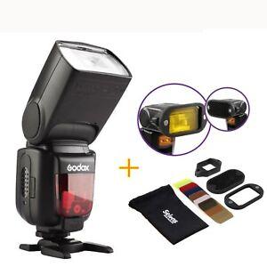Godox TT600 2.4G HSS Wireless Flash Speedlite Magnetic Flash Kit For Canon Nikon
