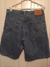 LEVI'S 550 RELAXED FIT SIZE 32 DENIM SHORTS
