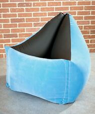 Relax Moda Blue Chair Comfy Air Camping Air Chairs Kids Room Chair