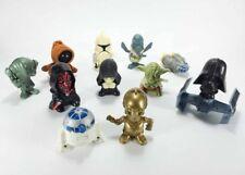 11 Burger King & McDonalds Star Wars Mini Figures - R2 C3PO Vader Jawa Toy Lot