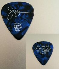 Jay DeMarcus Rascal Flatts Concert Tour Guitar Pick Blue Marble country music