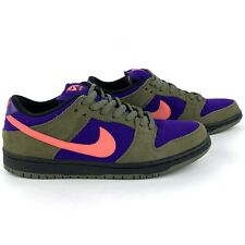 Nike Dunk SB Low 'Olive Atomic Red' 304292-265 Men's Shoes Size 10.5