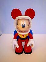 Disney Mickey Mouse 2010 Mattel Talking Astronaut Toy Light Up Jet Pack