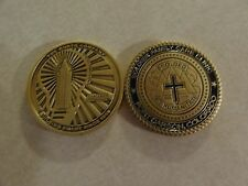 CHALLENGE COIN THE KORTE COMPANY SOLDIER FAMILY CARE CLINIC FORT CARSON COLORADO