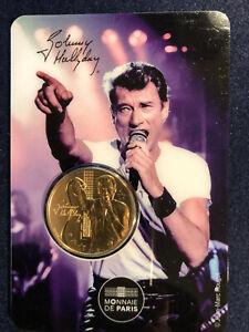 Médaille Johnny Hallyday monnaie de Paris 2019 Tirage 4317 Exemplaires