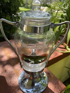 Vintage Green River Syrup Dispenser Circa 1930's