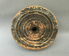Ancienne poulie en bois outils atelier industriel paysan usine french antique