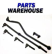 6 Pc Kit For Jeep Grand Cherokee Drag Link Tie Rod Track Bar 2 Yr Warranty