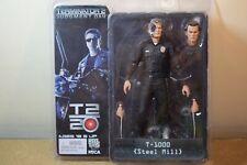 Genuine NECA Terminator 2 Molino de Acero T-1000 día de juicio Figura De Acción