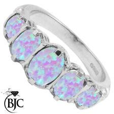 Anillos de joyería anillo con piedra natural de oro blanco
