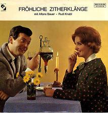 LP  Fröhliche Zitherklänge mit Alfons Bauer und Rudi Knabl