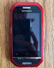 Motorola Ferrari Rare Cellular Nextel IDEN Phone RED