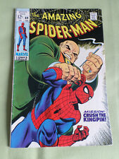 THE AMAZING SPIDER-MAN #69 -  MARVEL COMIC -FEB 1969 - ORIGINAL  - KING PIN
