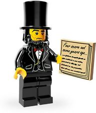 LEGO THE MOVIE 71004 - 5 MINIFIGURES  N. 1 Abraham Lincoln MINIFIGURE