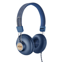 House of Marley Positive Vibration 2 On-Ear Headphones - Denim Blue
