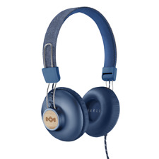 House of Marley Positive Vibration 2 On-Ear Headphones - Denim Blue